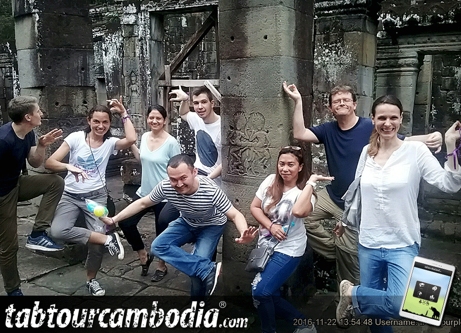 The World Bank team building in Siem Reap