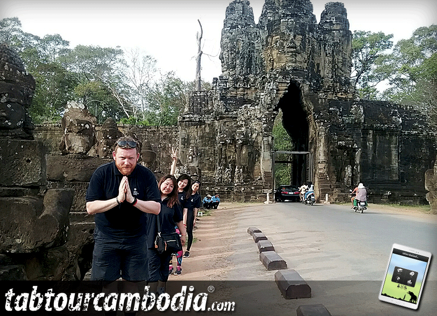 Select Property team building in Angkor Wat Cambodia