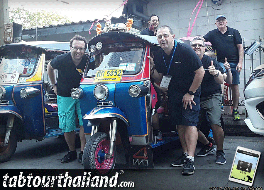 Speedcast speeds trough an innovative team building event in Bangkok