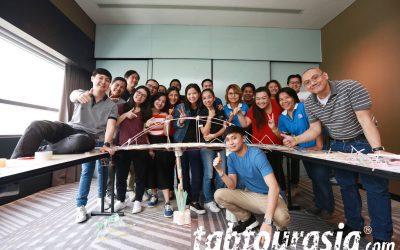 Bridges Challenge Indoor Team Building Thailand
