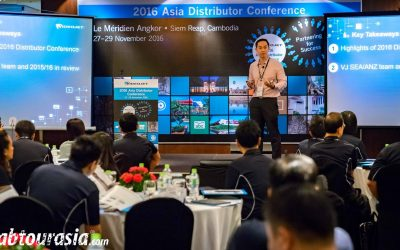Interactive conferencing in SE Asia