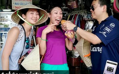 DBS Amazing Race Style Treasure Hunt Team Building Ho Chi Minh