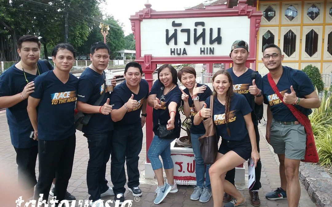Amazing Race Style Treasure Hunt Team Building Hua Hin