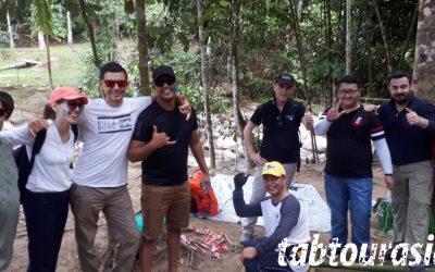 Ecolab Survival Challenge team building Malaysia
