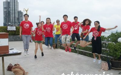 Amazing Race Style Treasure Hunt Team Building Pattaya